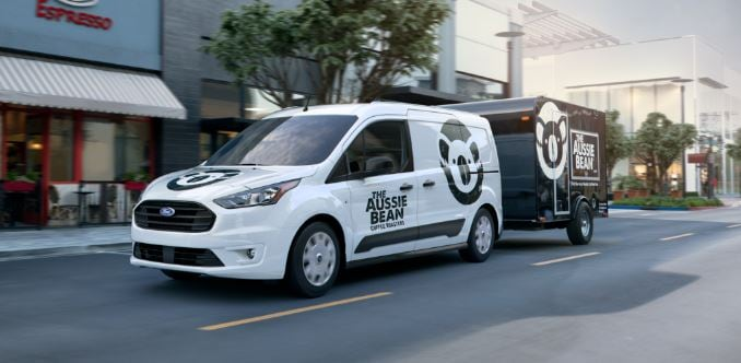 new Ford Transit Connect Commercial