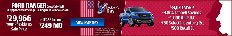 Ford Ranger CrewCab 4WD