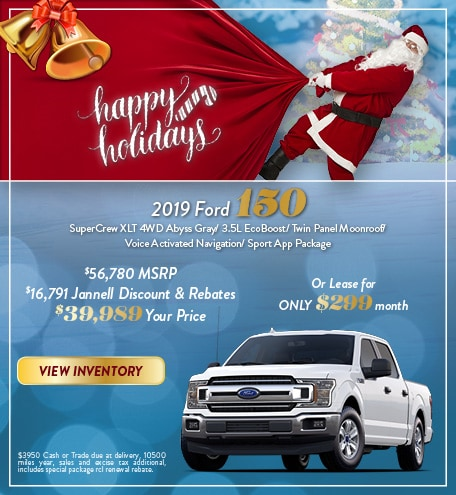 2019 Ford 150 SuperCrew XLT 4WD