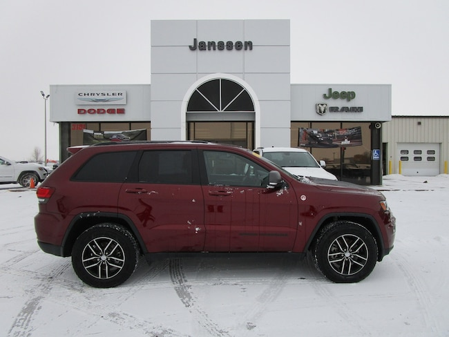 Used 2017 Jeep Grand Cherokee Trailhawk 4x4 For Sale In North Platte
