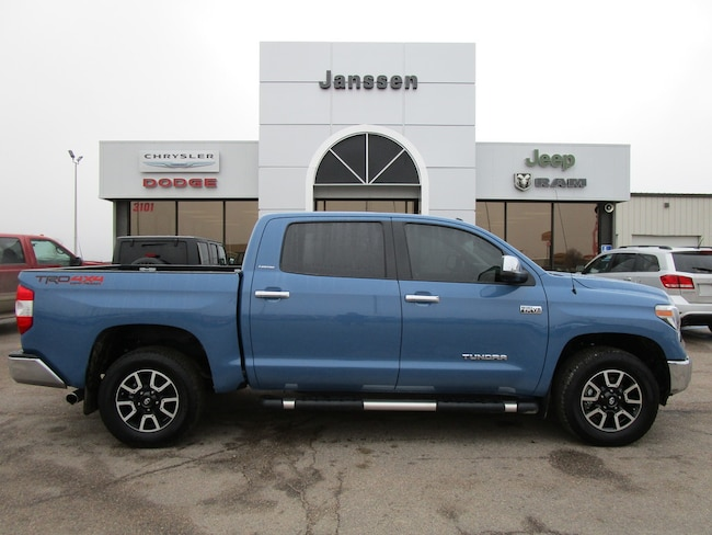 Used 2018 Toyota Tundra Truck CrewMax North Platte