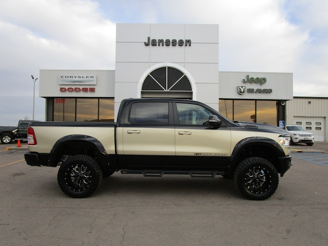 New 2019 Ram 1500 RMT 4x4 Crew Cab for-sale-in-North-Platte