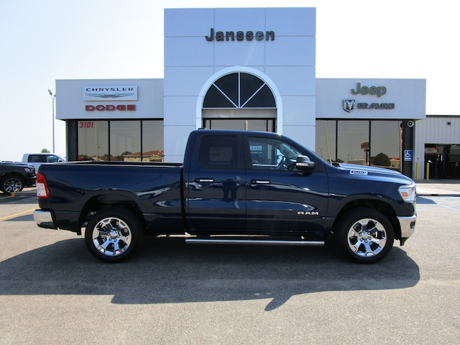 New 2019 Ram 1500 Big Horn 4x4 Quad Cab for-sale-in-North-Platte