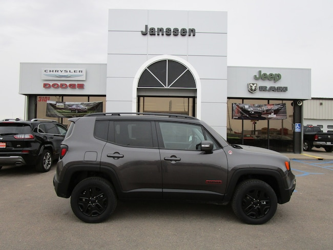 New 2018 Jeep Renegade Trailhawk 4x4 Sport Utility for-sale-in-North-Platte