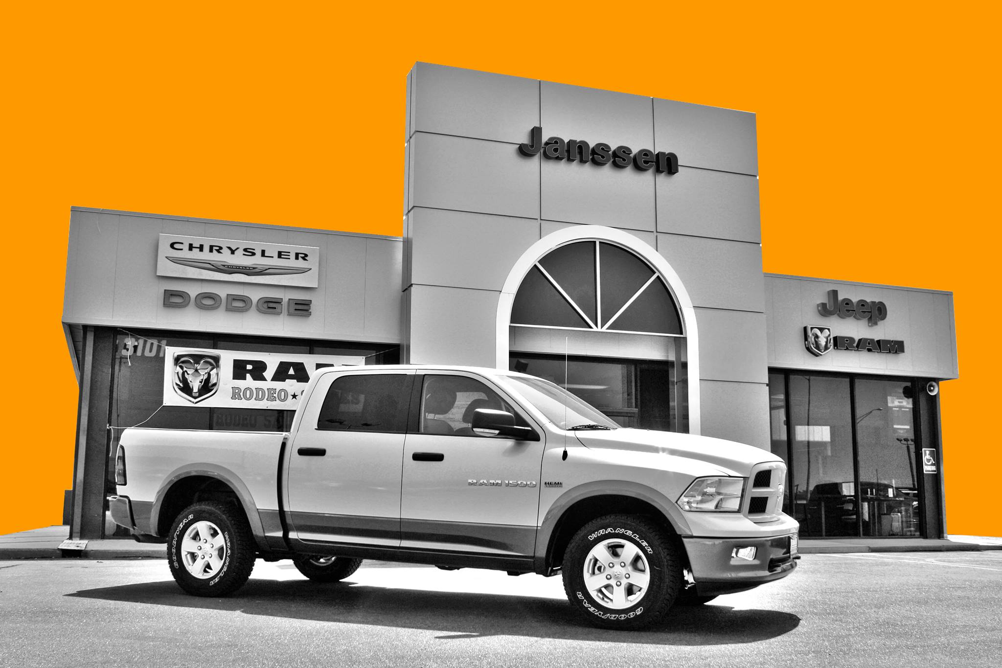 New Chrysler Dodge Jeep Ram & Used cars for sale Janssen Chrysler