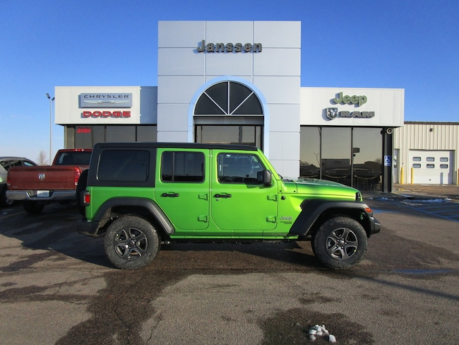 New 2018 Jeep Wrangler Unlimited Sport 4x4 Sport Utility for-sale-in-North-Platte