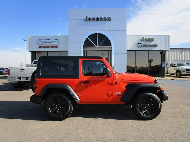 New 2018 Jeep Wrangler Sport 4x4 Sport Utility for-sale-in-North-Platte
