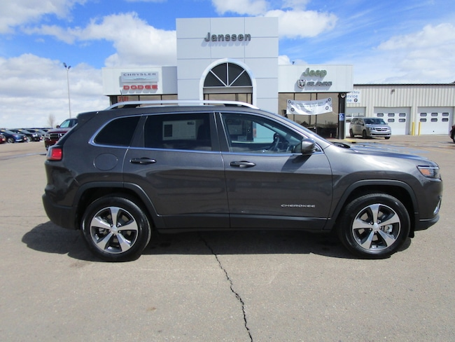 New 2019 Jeep Cherokee LIMITED 4X4 Sport Utility for-sale-in-North-Platte