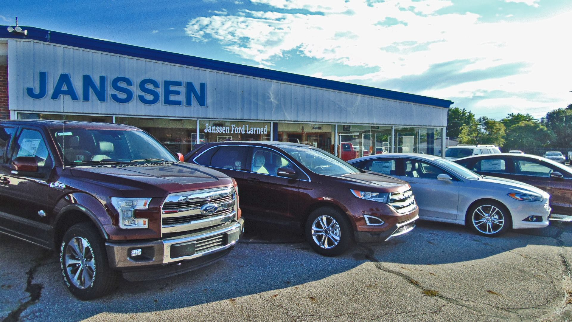 About Janssen Ford Of Larned A Ford Dealership In Larned