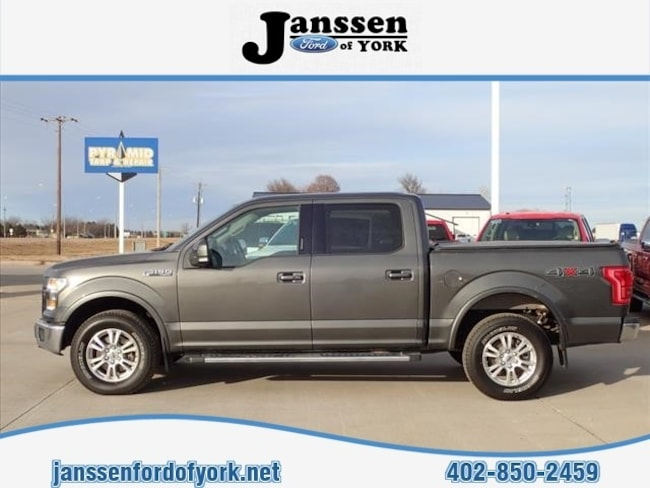 2015 Ford F150 Supercrew Lariat Crew Cab Pickup - Short Bed