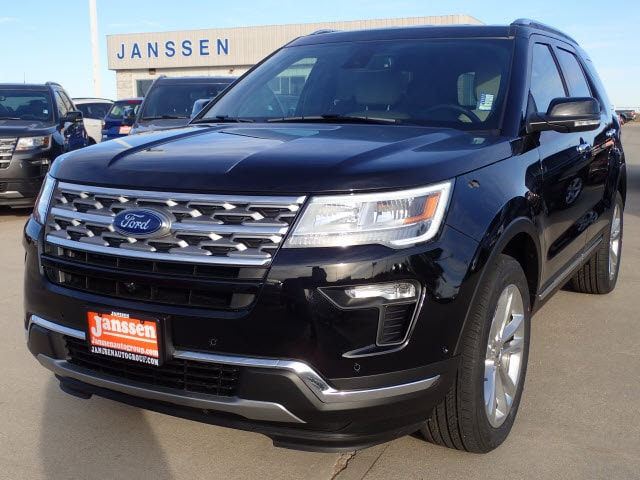 New 2019 Ford Explorer Limited For Sale at Janssen Ford of