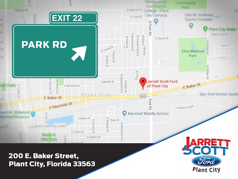 Plant City Florida Map.Map Location Jarrett Scott Ford