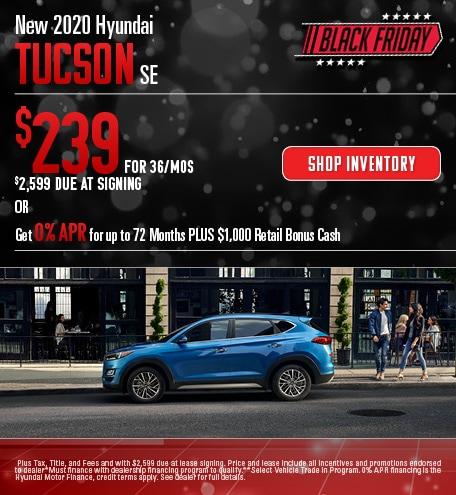 2020 Hyundai Tucson - November