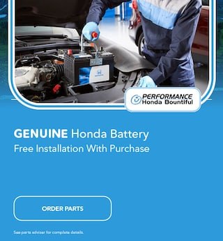 Genuine Honda Battery Free Installation With Purchase