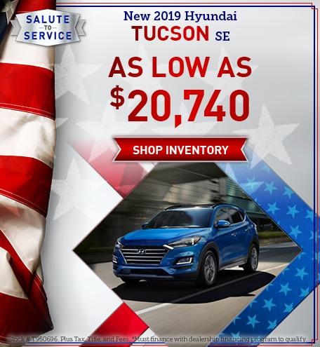 May New 2019 Hyundai Tucson Se