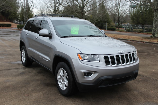 Used 2015 Jeep Grand Cherokee Laredo 4x4 SUV for sale near Marietta