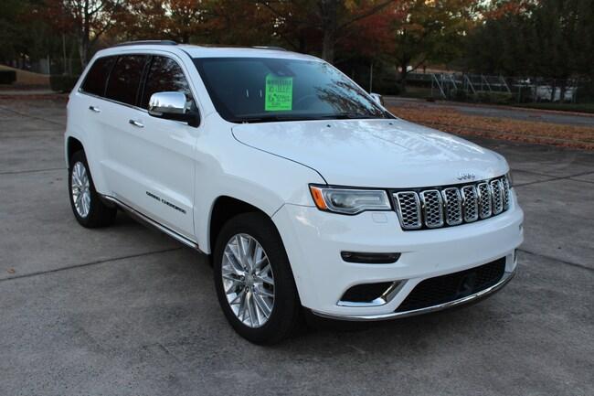 Used 2018 Jeep Grand Cherokee Summit 4x4 SUV for sale near Marietta