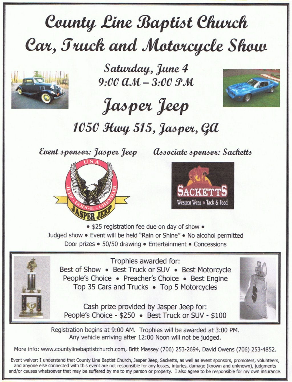 Jasper Jeep Car Show New Chrysler Dodge Jeep RAM Dealer Near - Any car shows near me