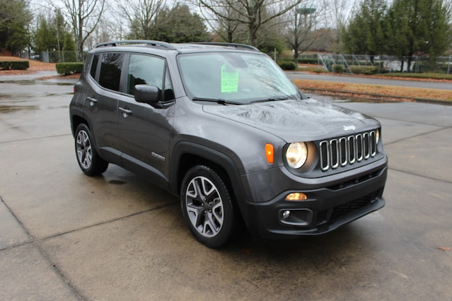 Used 2016 Jeep Renegade Latitude FWD SUV for sale near Marietta