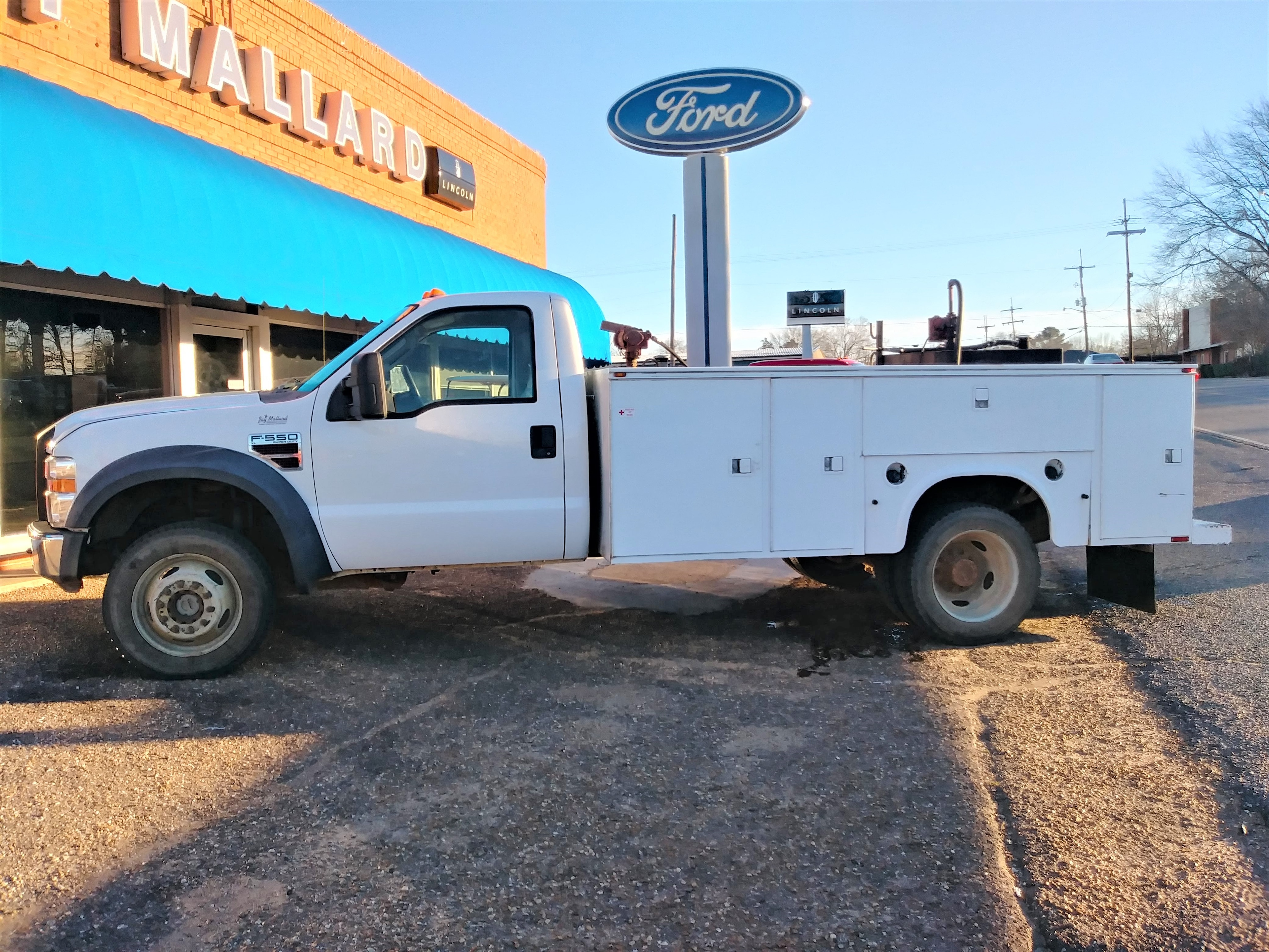 2008 Ford F550 Utility Bed UTILITY