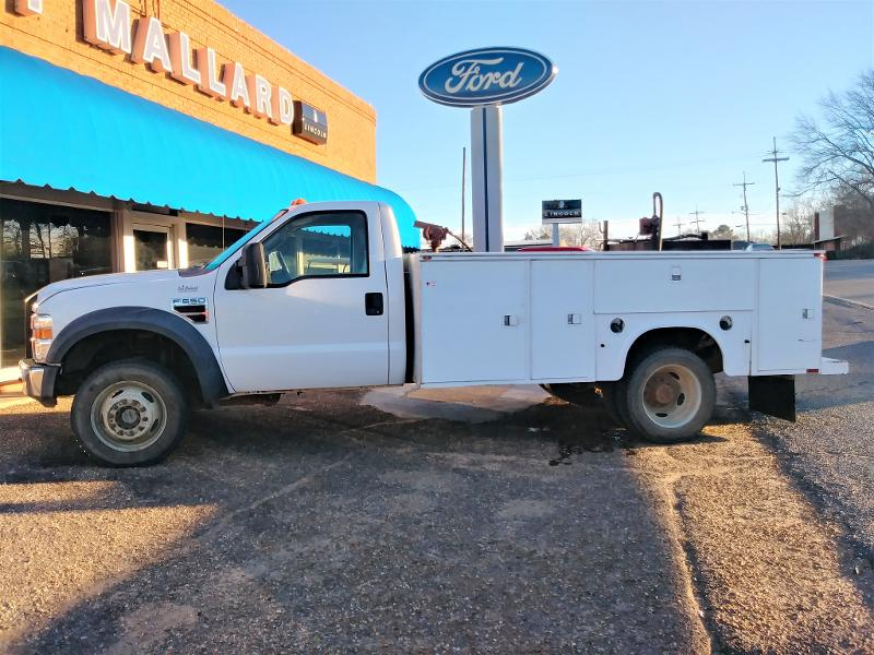 2008 Ford F-550 Chassis Cab BED Chassis Truck