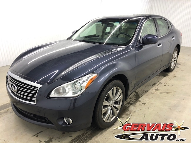 2011 INFINITI M37 AWD GPS Cuir Toit Ouvrant MAGS Berline