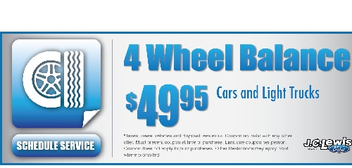 Jc Lewis Ford >> Ford Service Specials J C Lewis Ford Savannah