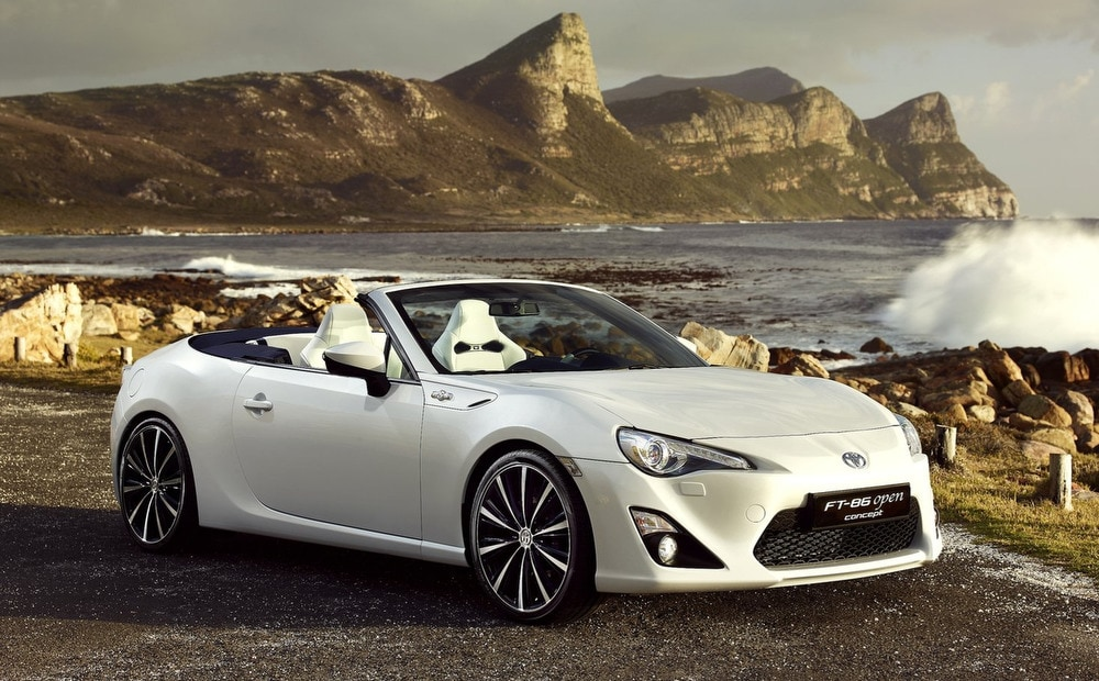 toyota ft 86 open concept previews likely scion fr s and subaru brz convertible j d power. Black Bedroom Furniture Sets. Home Design Ideas