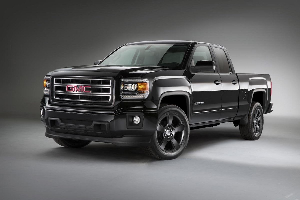 gmc aims to take sport trucks to a new level with 2015 sierra elevation edition j d power. Black Bedroom Furniture Sets. Home Design Ideas