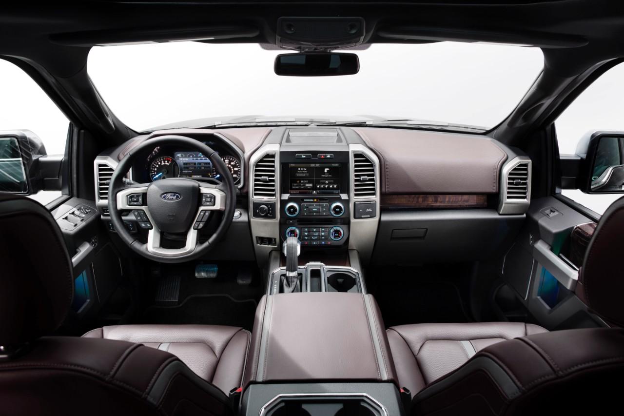 2015 Ford F150 Interior 1280 x 853