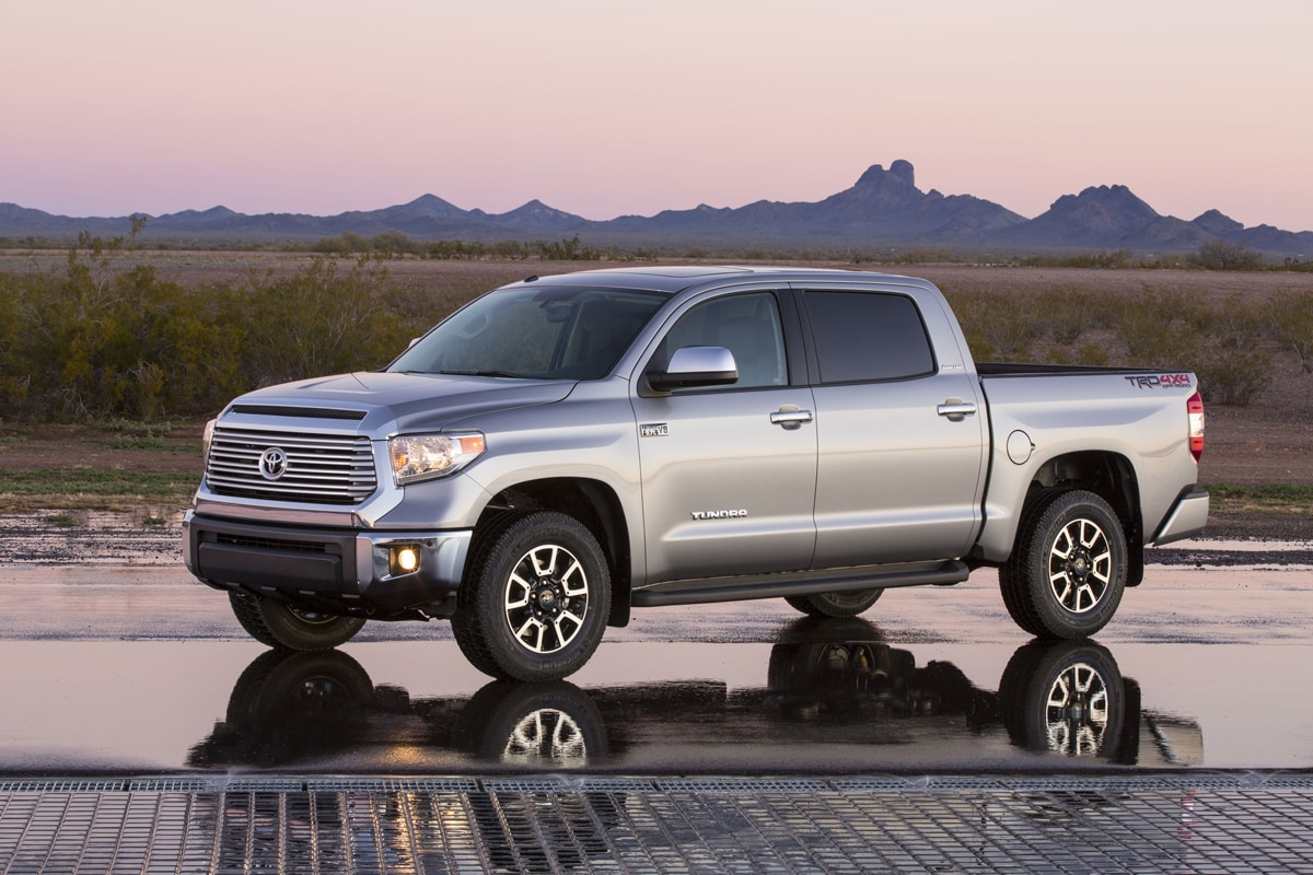 2014 Toyota Tundra Updated, Not Redesigned
