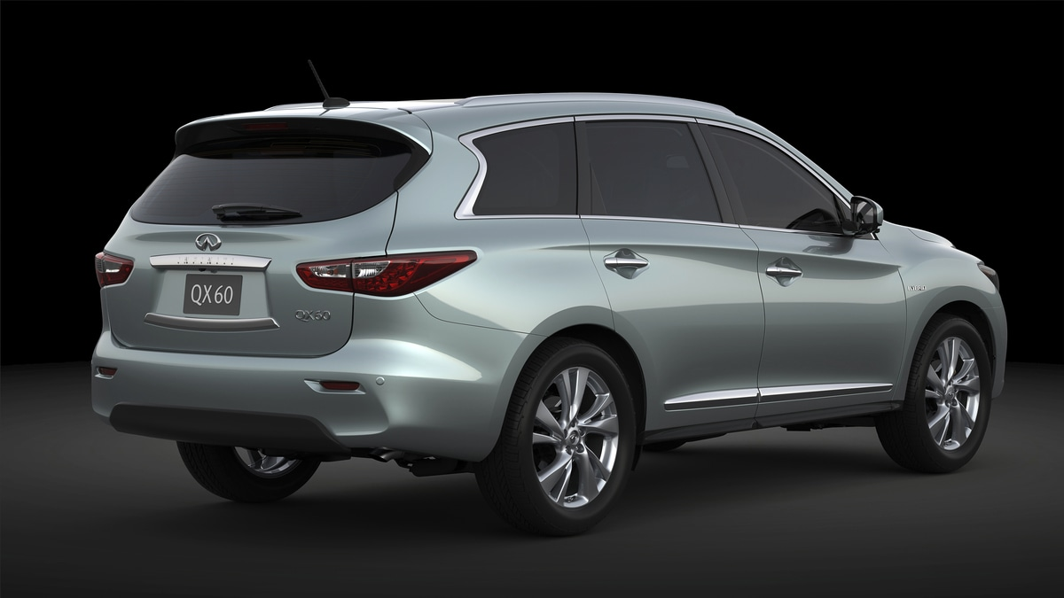 2014 Infiniti QX60 Hybrid to Debut at 2013 New York Auto Show