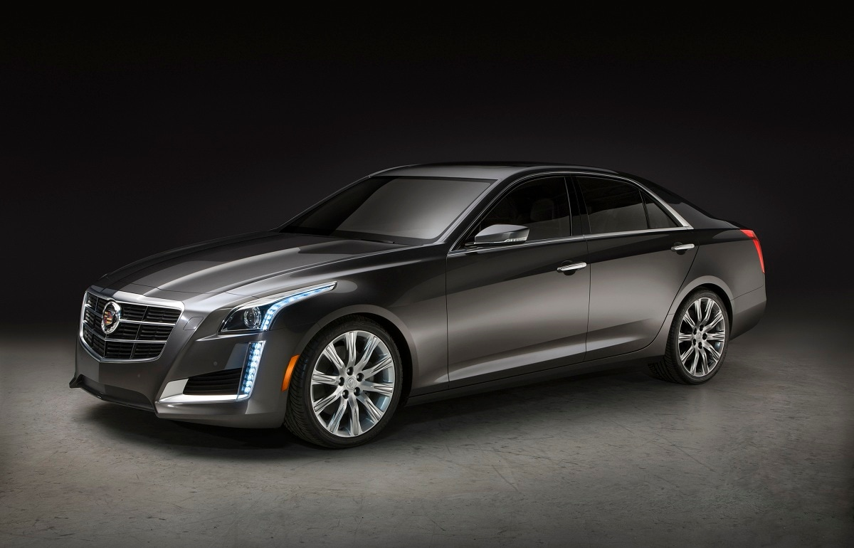 redesigned 2014 cadillac cts moves into midsize luxury sedan territory j d power. Black Bedroom Furniture Sets. Home Design Ideas