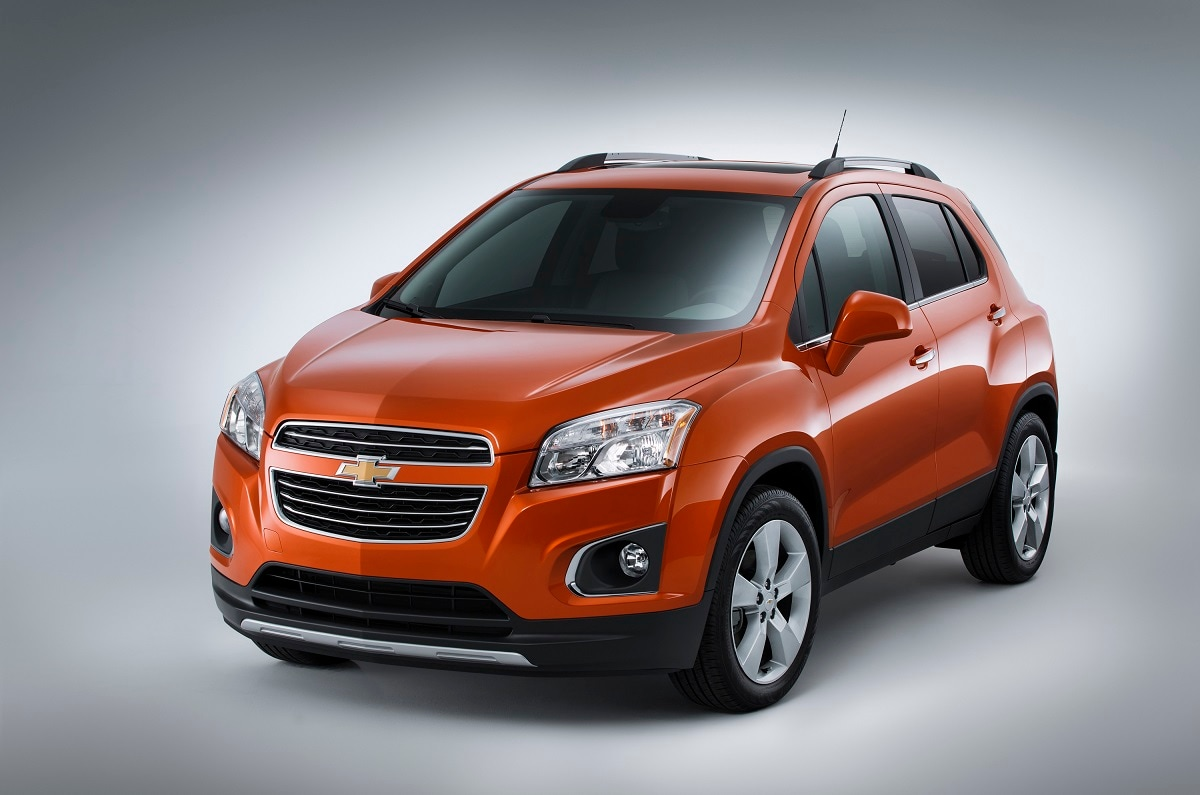 2015 chevrolet trax added as new compact crossover suv for chevy lineup j d power. Black Bedroom Furniture Sets. Home Design Ideas