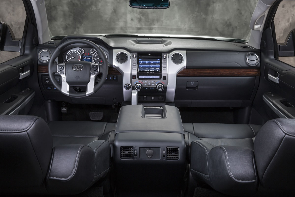 interior features toyota says the 2014 tundra s new interior