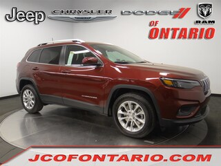 New 2019 Jeep Cherokee LATITUDE FWD Sport Utility 1C4PJLCB9KD298036 for sale in Ontario, CA at Jeep Chrysler Dodge of Ontario