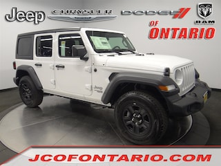 New 2018 Jeep Wrangler UNLIMITED SPORT 4X4 Sport Utility 1C4HJXDG5JW180574 for sale in Ontario, CA at Jeep Chrysler Dodge of Ontario