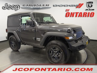 New 2018 Jeep Wrangler SPORT 4X4 Sport Utility 1C4GJXAN0JW290057 for sale in Ontario, CA at Jeep Chrysler Dodge of Ontario
