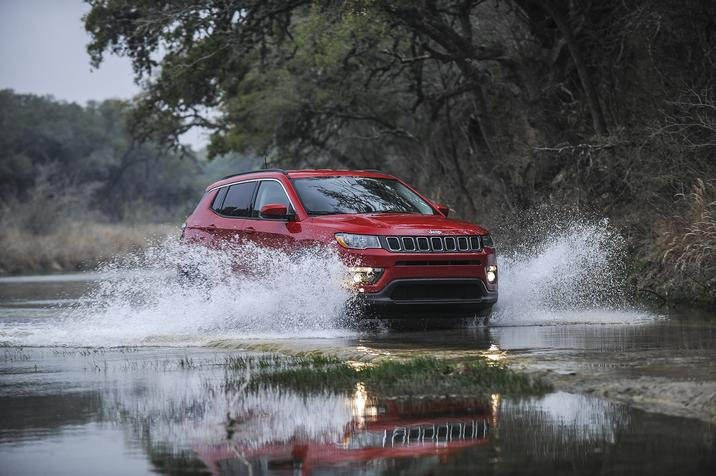 2017 All-new Jeep Compass Red Exterior
