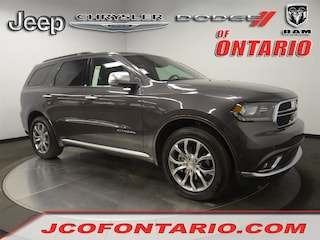New 2018 Dodge Durango CITADEL ANODIZED PLATINUM AWD Sport Utility 1C4RDJEG8JC498228 for sale in Ontario, CA at Jeep Chrysler Dodge of Ontario