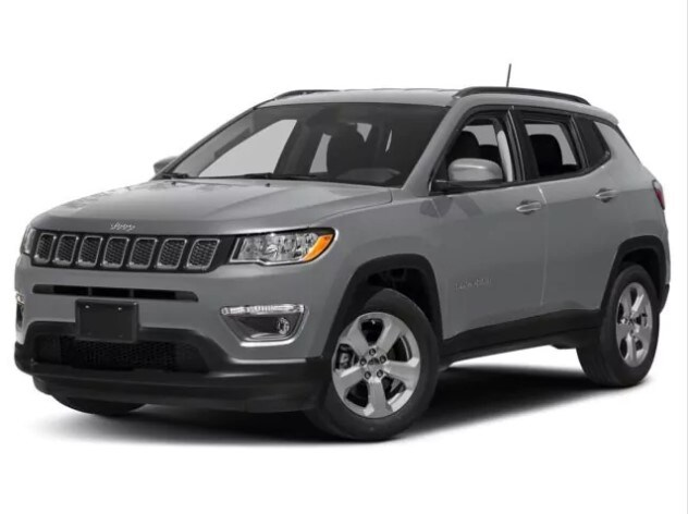 2018 Jeep Compass Gray Front Exterior