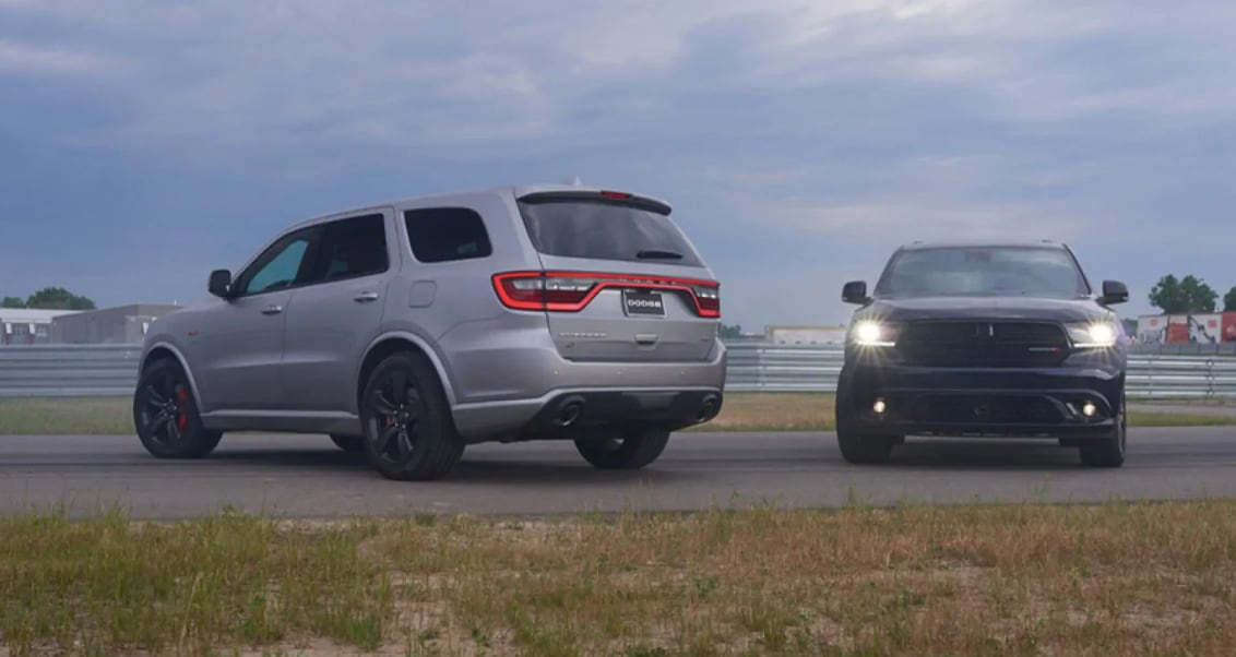 2018 Dodge Durango Gray and Black Exterior