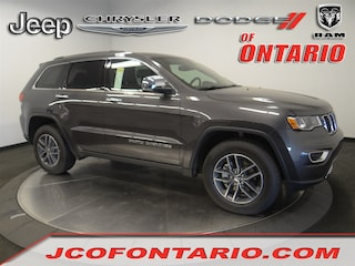 New 2018 Jeep Grand Cherokee LIMITED 4X2 Sport Utility 1C4RJEBM1JC514571 for sale in Ontario, CA at Jeep Chrysler Dodge of Ontario