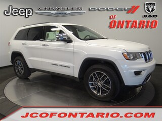 New 2018 Jeep Grand Cherokee LIMITED 4X2 Sport Utility 1C4RJEBM9JC514477 for sale in Ontario, CA at Jeep Chrysler Dodge of Ontario