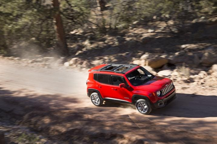2018 Jeep Renegade Latitude Front Red Exterior