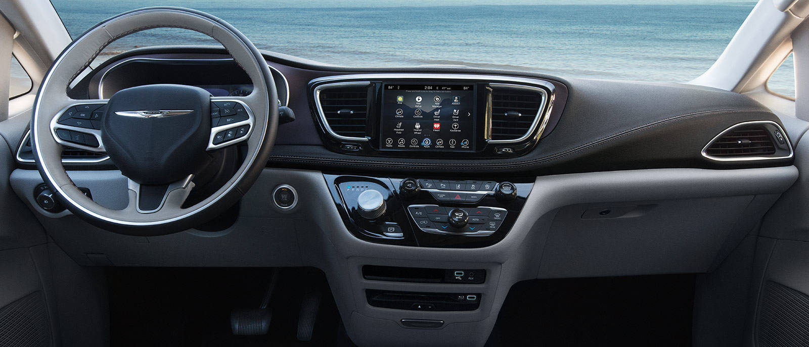 Interior Dashboard Pacifica