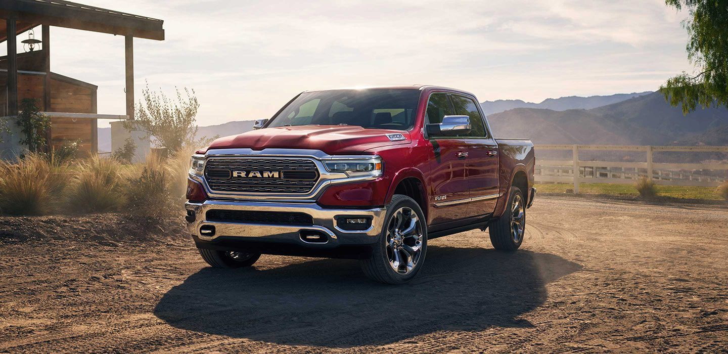 2019 Ram 1500 Limited Front Exterior