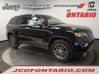 New 2018 Jeep Grand Cherokee LIMITED 4X2 Sport Utility 1C4RJEBM6JC514517 for sale in Ontario, CA at Jeep Chrysler Dodge of Ontario