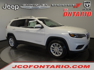 New 2019 Jeep Cherokee LATITUDE FWD Sport Utility 1C4PJLCB1KD298032 for sale in Ontario, CA at Jeep Chrysler Dodge of Ontario