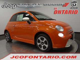Used 2016 FIAT 500e Battery Electric HB 3C3CFFGE5GT155256 for sale in Ontario, CA at Jeep Chrysler Dodge of Ontario